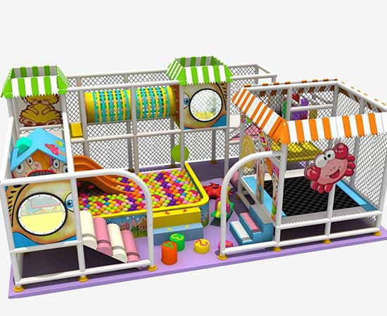 Soft Indoor Commercial Playground